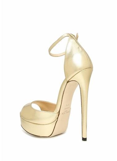 Jimmy Choo Ayakkabı Altın